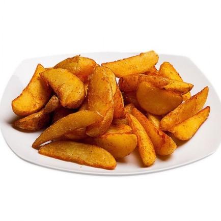 Картофель по деревенски - 250 гр. (Средняя порция)