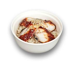Рис с угрём (унадзю)