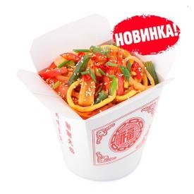 Лапша Wok - Курица в кисло-сладком соусе