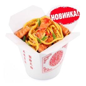 Лапша Wok - Лосось в устричном соусе