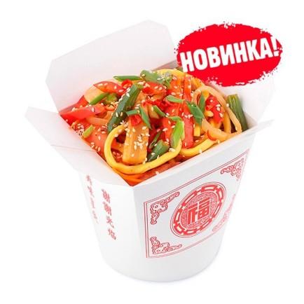 Лапша Wok - Овощи в соевом соусе