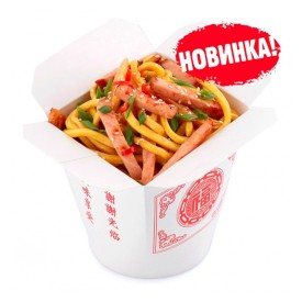 Лапша Wok - Свинина в кисло-сладком соусе