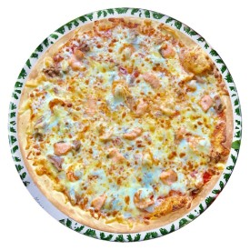 """Пицца """"Кватро Песке"""" - 28cм."""