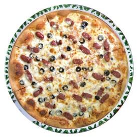 """Пицца """"с Охотничьей колбаской"""" - 28cм."""